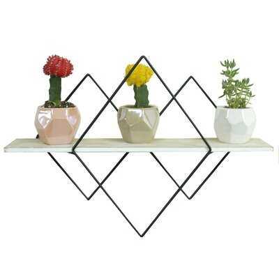 Mengiste Geometric Floating Shelf - Wayfair