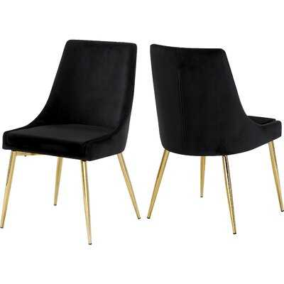 Karina Upholstered Dining Chair (Set Of Two) - Wayfair