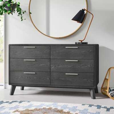 Merrinda 6 Drawer Double Dresser - AllModern
