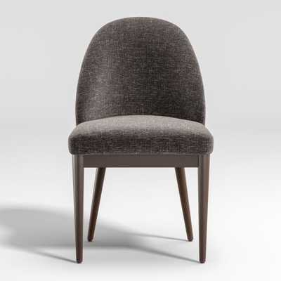 Ana Charcoal Dining Chair - Crate and Barrel