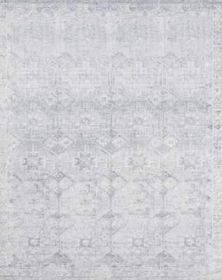 """Magnolia Home by Joanna Gaines DEVEN DEV-02 FROST 5'-0"""" x 7'-6"""" - Magnolia Home by Joana Gaines Crafted by Loloi Rugs"""