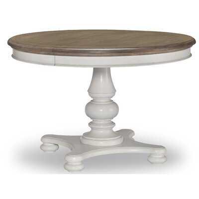 Goti Drop Leaf Rubberwood Solid Wood Dining Table - Wayfair