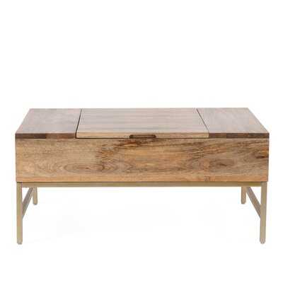 Kassidy Lift Top Coffee Table with Storage - AllModern