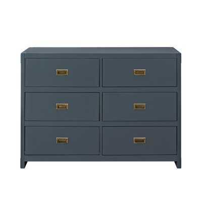 Wilmslow 6 Drawer Double Dresser - Birch Lane