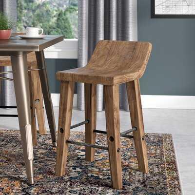Feinberg Solid Wood Bar & Counter Stool - Wayfair