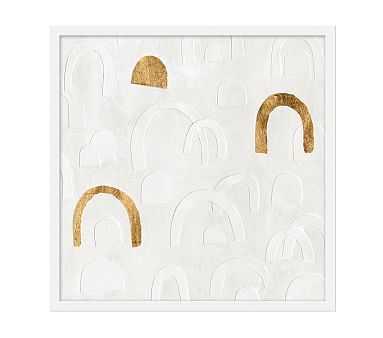 Hopscotch I, 25x25, White Frame - Pottery Barn Kids