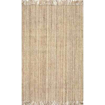 Elana Handwoven Flatweave Natural Area Rug - Wayfair