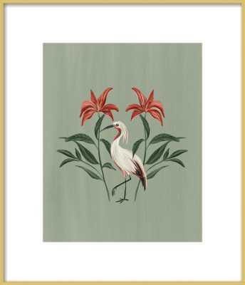Tropical Crane by Nancy Noreth for Artfully Walls - Artfully Walls