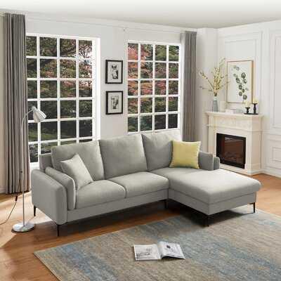 Pankratz 93'' Wide Right Hand Facing Sofa & Chaise - Wayfair