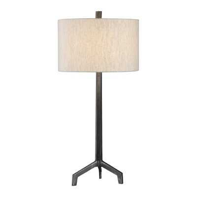 """Oliver Circle Cast Iron 34"""" Table Lamp - AllModern"""