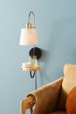 Jefford Sconce By Anthropologie in Black Size S - Anthropologie