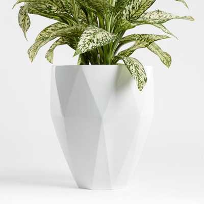 Diamond Large Planter - Crate and Barrel