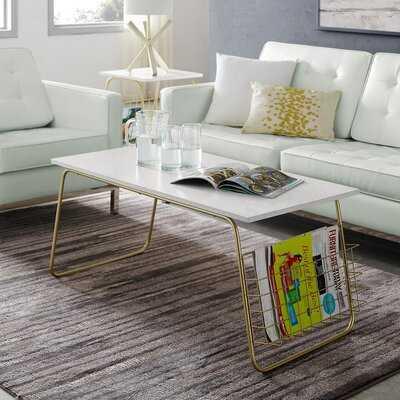 Hoffman Sled Coffee Table - Wayfair