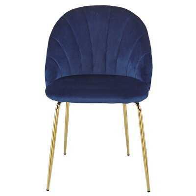 Howardville Velvet Upholstered Side Chair - Wayfair