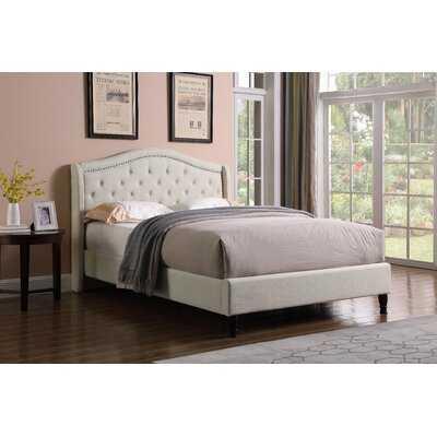 Weiss Upholstered Sleigh Bed - Wayfair
