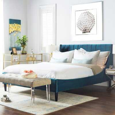 Woodvale Upholstered Platform Bed - Wayfair