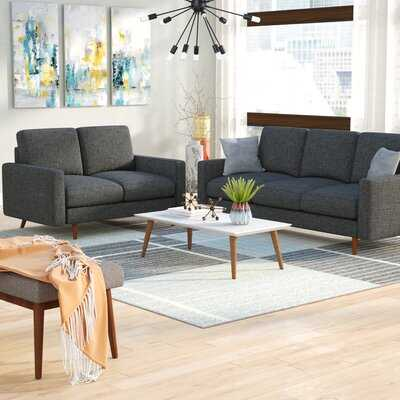 Macsen 2 Piece Living Room Set - Wayfair