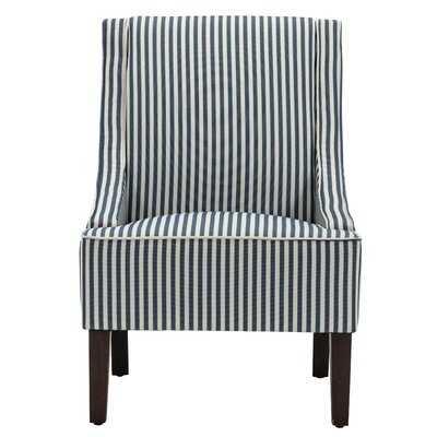 """Kennebunk 25.2"""" Swoop Side Chair - Wayfair"""