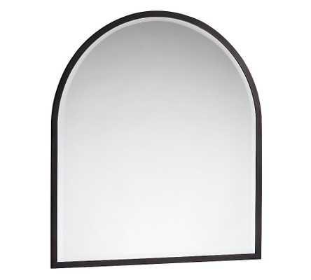 "Layne Mantel Mirror, Bronze - 36"" x 40"" - Pottery Barn"