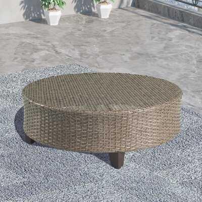 Reza Wicker Coffee Table - Wayfair