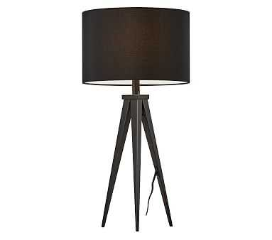 Director Table Lamp, Black - Pottery Barn Kids