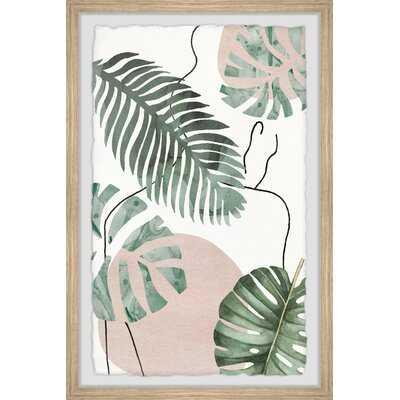 Big Leaf II by Parvez Taj - Picture Frame Painting Print on Paper - Wayfair