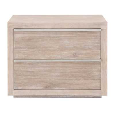 Steele 2-Drawer Nightstand - Alder House