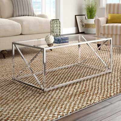 Geise Solid Coffee Table - Wayfair