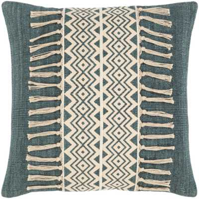 "Lilyana Pillow Cover, 20""x 20"", Sage - Roam Common"