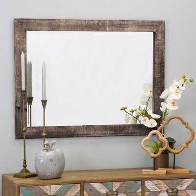 Longwood Rustic Beveled Accent Mirror 40 x 30 - Birch Lane