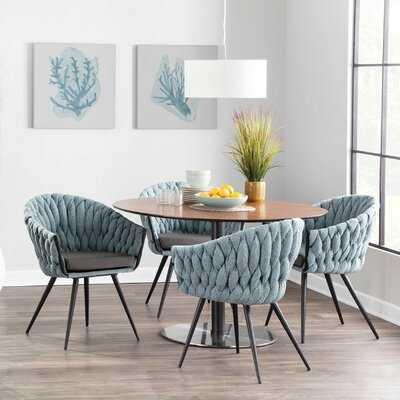 Aaru Upholstered Arm Chair - Wayfair