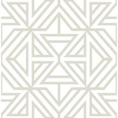 """Swett 33' L x 20.5"""" W Wallpaper Roll - AllModern"""