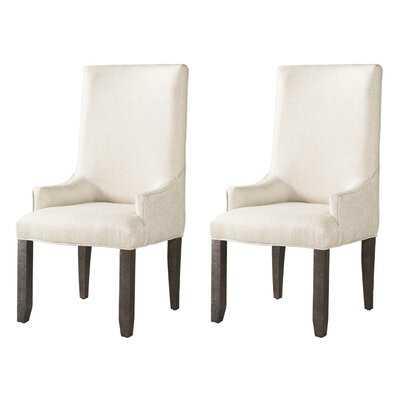 Kirkendall Upholstered Dining Chair (Set of 2) - Wayfair