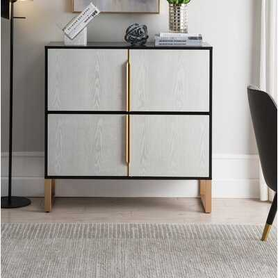 Pinegar 4 Door Accent Cabinet - Wayfair