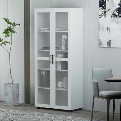 Ahlivia 5 - Shelf Storage Cabinet - Wayfair