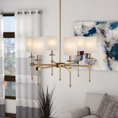 Tatianna 6 - Light Shaded Classic / Traditional Chandelier - Wayfair