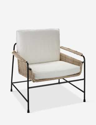 Tammy Lounge Chair, Rattan - Lulu and Georgia