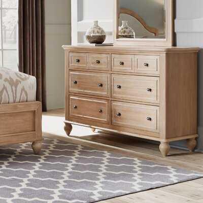 Romford 6 Drawer Double Dresser - Birch Lane