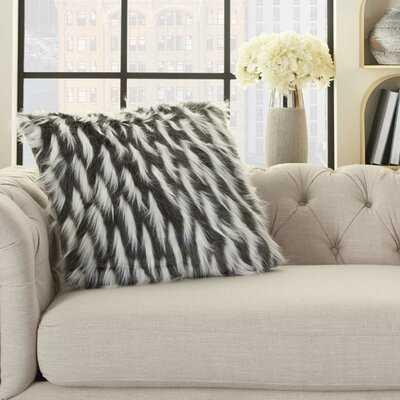 Addi Textured Throw Pillow - Wayfair