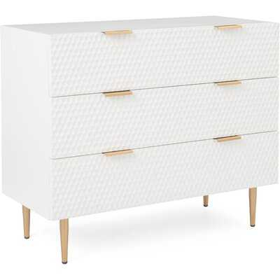 Leone 3 Drawer  Bachelor's Chest - Wayfair