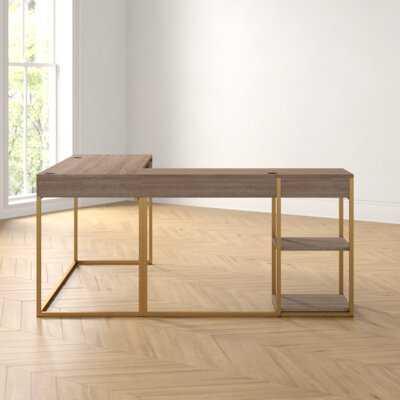 Iris L-Shaped Desk - Wayfair