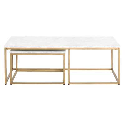 Carrera Nesting Coffee Table - Alder House