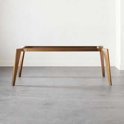 Harper Brass Dining Table Base - CB2