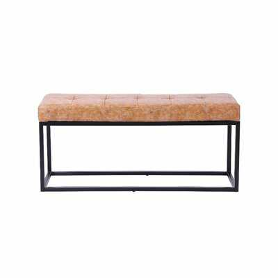 Coale Upholstered Bench - Wayfair