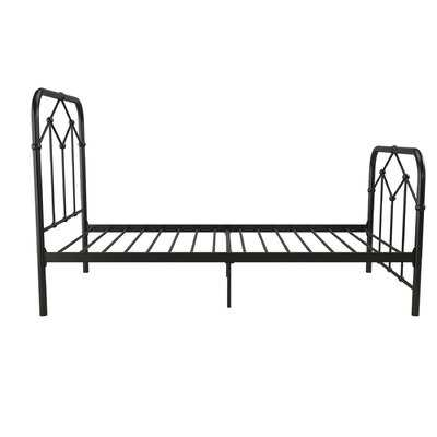 Francis Farmhouse Metal Platform Bed - Wayfair