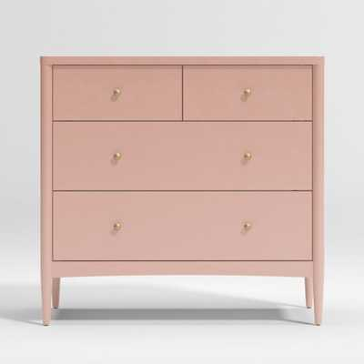 Kids Hampshire Blush 4-Drawer Dresser - Crate and Barrel