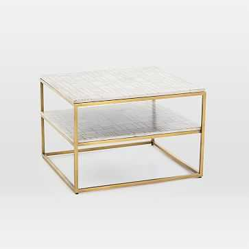 Tiered Marble Side Table - West Elm
