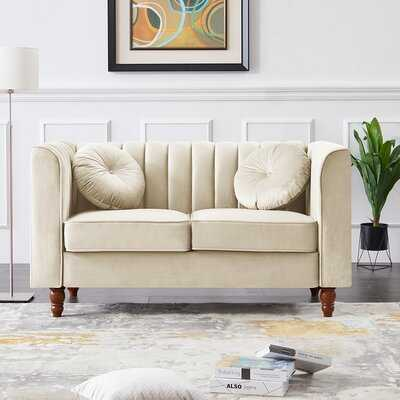 "Goulart 66.5"" Square Arm Loveseat - Wayfair"