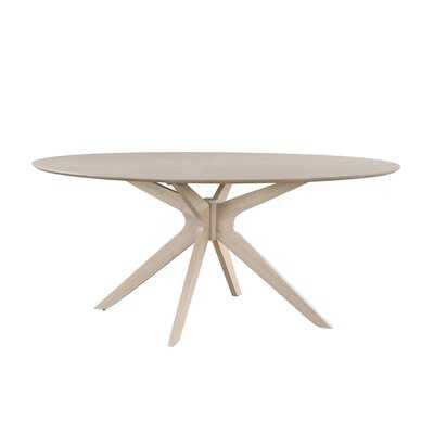"43.25"" Pedestal Dining Table - Wayfair"