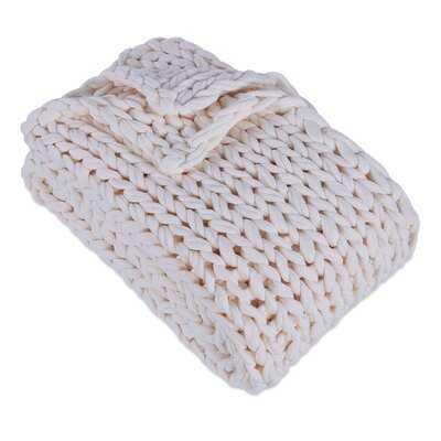 Auman Sailor's Knit Chunky Throw - AllModern